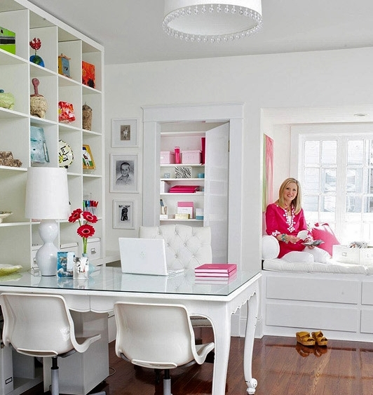 Home Office Craft Room Ideas: Perfectly Pretty Craft Room Ideas