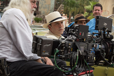 Image of Ben Affleck and Robert Richardson on the set of Live By Night (8)
