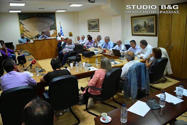 Ειδική συνεδρίαση του Δημοτικού Συμβουλίου Επιδαύρου την 1η Οκτωβρίου