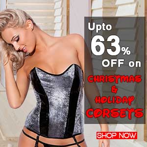 Christmas and Holiday Corsets Deals