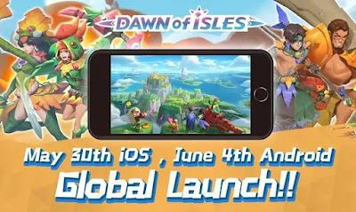 MMORPG Dawn Of Isle Game Baru Buatan NetEase