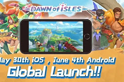 MMORPG Dawn Of Isle Game Baru Buatan NetEase