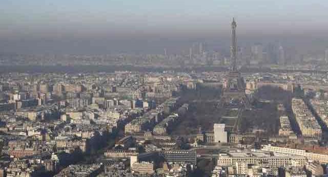 París vive el nivel de contaminación más alto de la última década