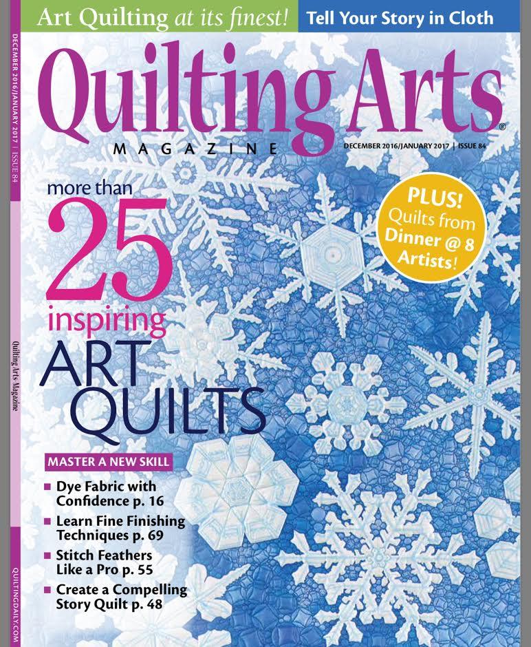 Dinner at Eight Artists: Quilting Arts Magazine : quilt art magazine - Adamdwight.com