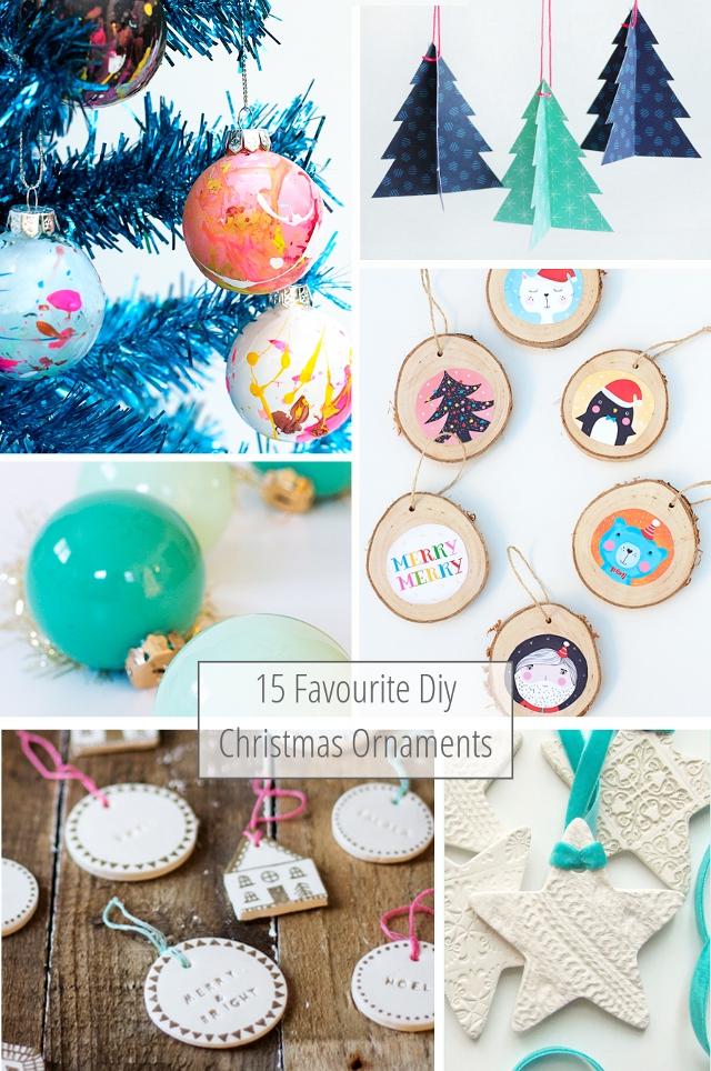 15 Favourite Diy Christmas Tree Ornaments