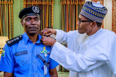 Buhari Confirms former acting IGP
