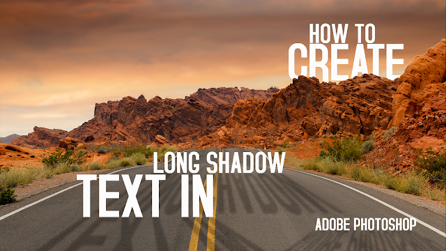 How to Create Long Shadow Text in Adobe Photoshop