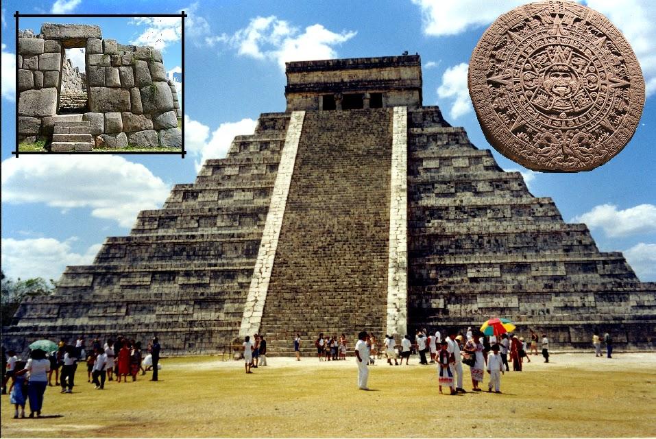 Aztec inca maya