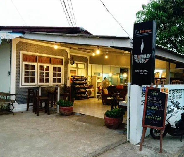 The Book House Coffee shop & Restaurant in Udon Thani