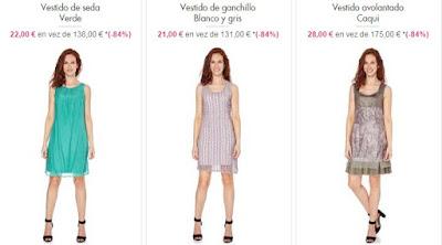 vestidos oferta