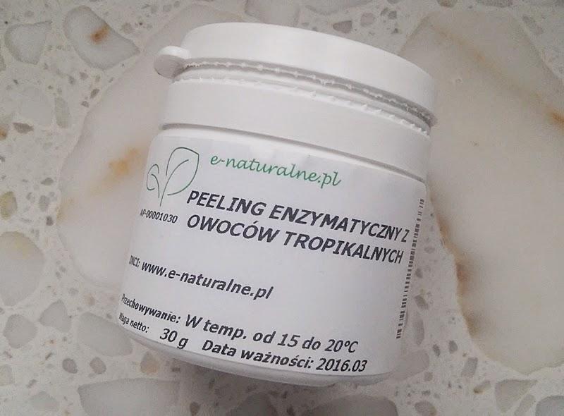 Peeling enzymatyczny z owoców tropikalnych e-naturalne.pl