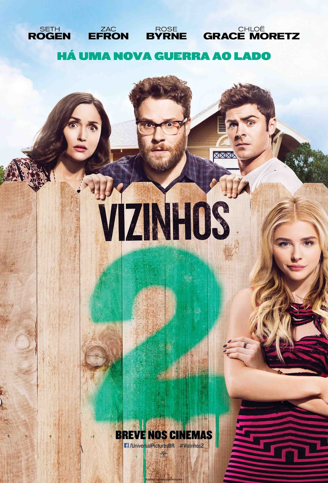 Vizinhos 2 Torrent – BluRay 720p e 1080p Dublado (2016)