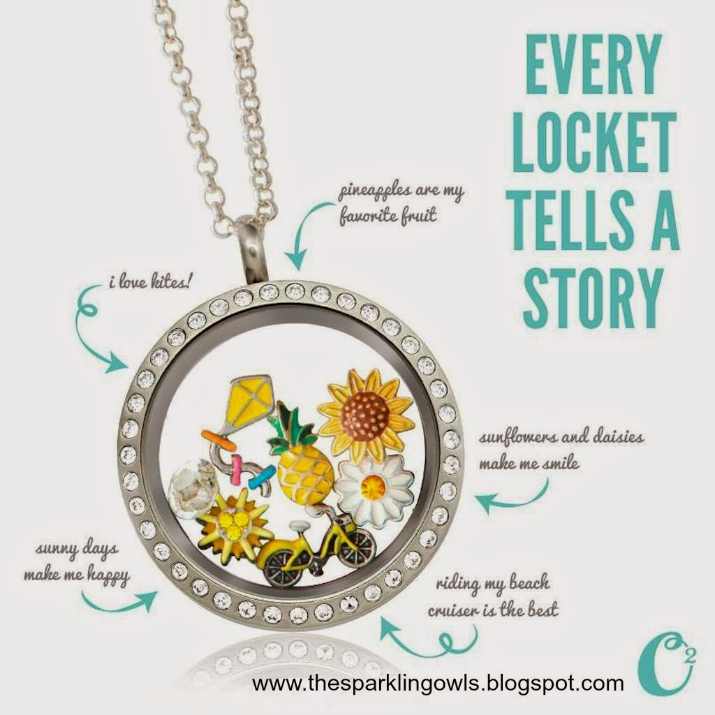 The Sparkling Owls: Every locket tells a story! -Origami ... - photo#17