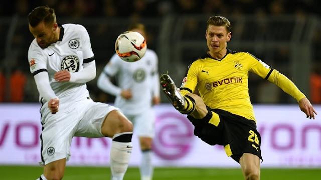Eintracht Frankfurt vs Borussia Dortmund en vivo