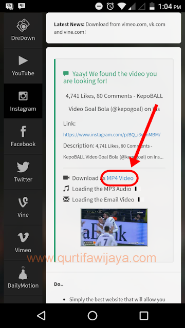 Cara Cepat Download Video Instagram di Android