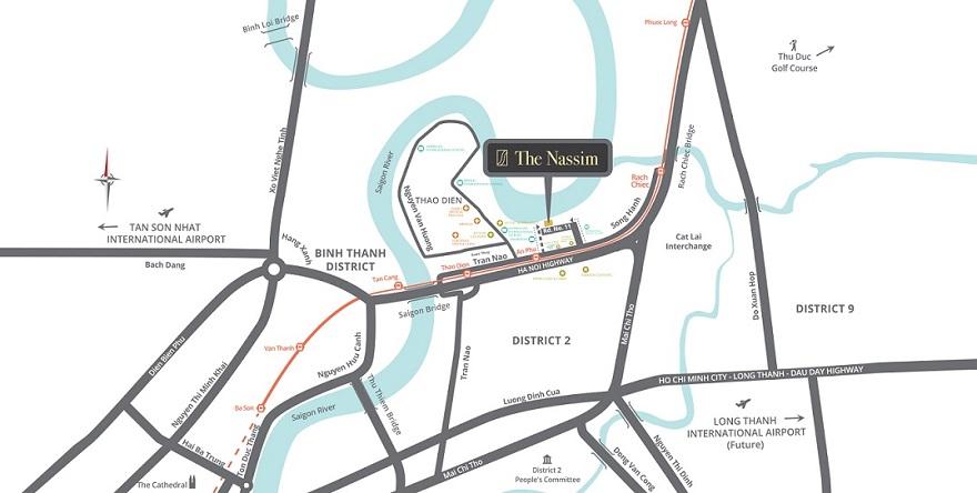 Căn hộ The Nassim Thảo Điền