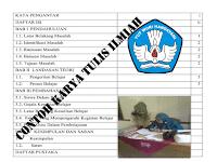 Contoh Karya Tulis Ilmiah Versi 1 2 3 4 5 6 | Referensi Info Guruku