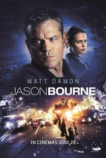 Poster of Jason Bourne 2016 720p Hindi BRRip Dual Audio Full Movie Download