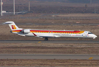CRJ-900 of Air Nostrum / Iberia Regional at Madrid Barajas