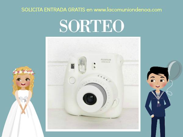 Sorteo Instax Mini 8 Fujifilm en Showroom Tendencias Comuniones 2017