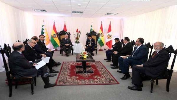 Bolivia y Perú abordarán necesidad de construir megapuerto