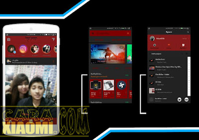 Download Tema Xiaomi MIUI Red One V2 Mtz Update Version by Riduant