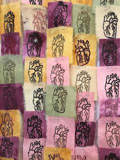paginas de libro de artista textil