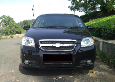 Eksterior Chevrolet Kalos / Lova Tampak Depan