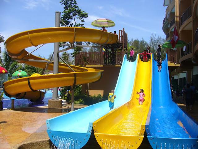 Taman Tema Air - Pantai Morib Gold Coast