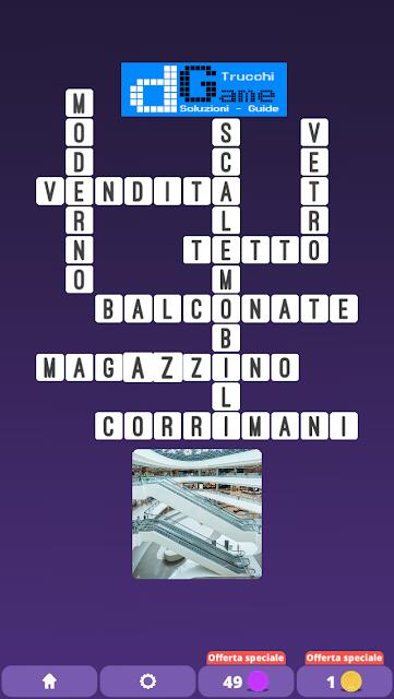 Soluzioni One Clue Crossword livello 14 schemi 4(Cruciverba illustrato)  | Parole e foto