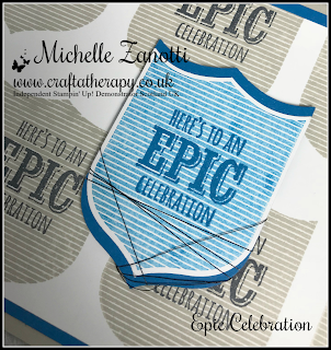 stampin' up! UK sale-a-bration epic celebrations badges banners best badge punch stamp-a-ma-jig metallic thread masculine male