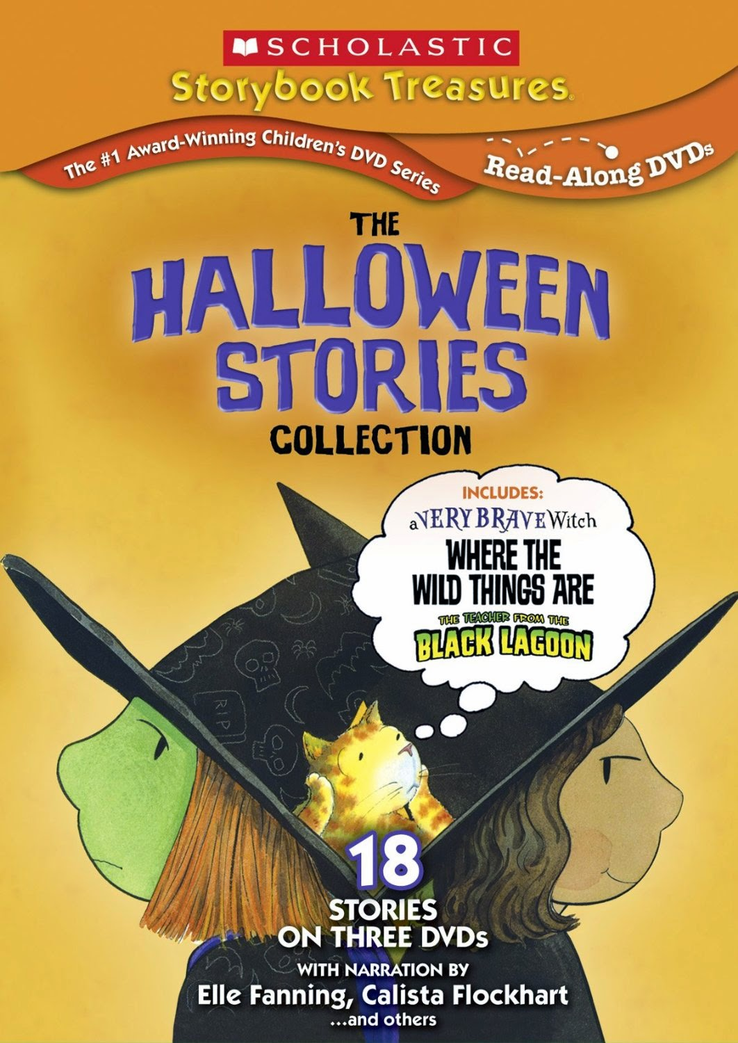Scholastic Storybook Treasures used for Halloween Theme Week