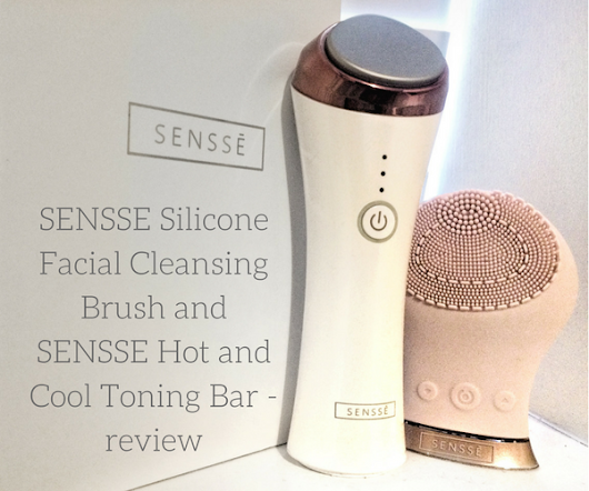 SENSSE Silicone Facial Cleansing Brush and SENSSE Hot and Cool Toning Bar - review