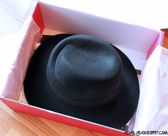 POPSUGAR Must Have Box, fall fashion, fashion hat