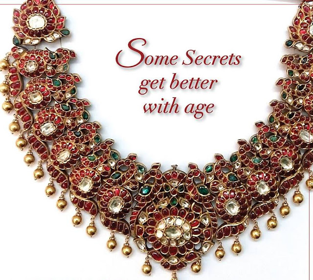 Burma Rubies Peacock Set by Prince Jewellery