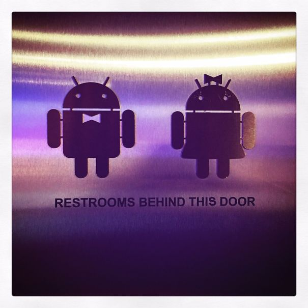 20+ Of The Most Creative Bathroom Signs Ever - #androidtoilet