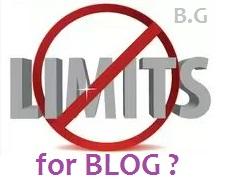 Kenali Batasan Apa Saja yang Terdapat dalam Blogger