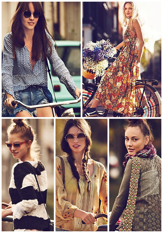 Girls on Bikes | Organized Mess