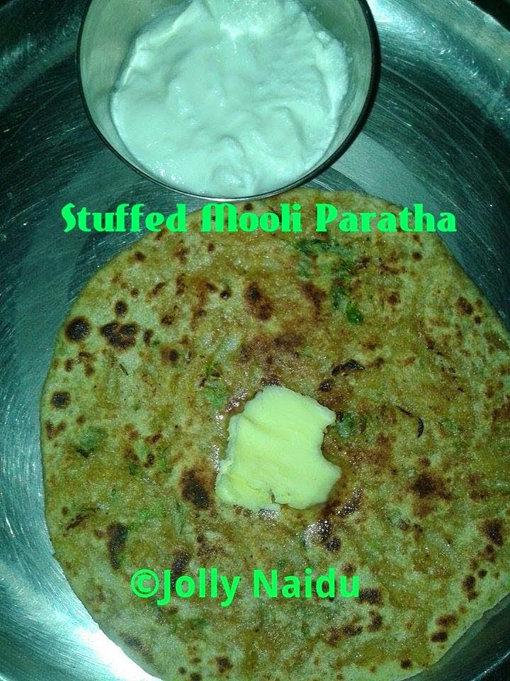 Stuffed Mooli ka Paratha