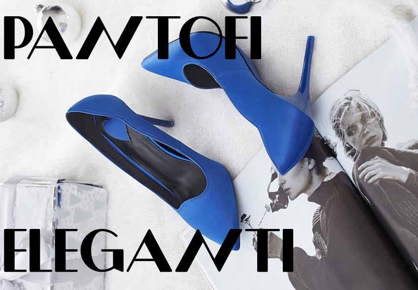 Pantofi femei cu toc de zi si de birou eleganti ieftini la moda vara 2020