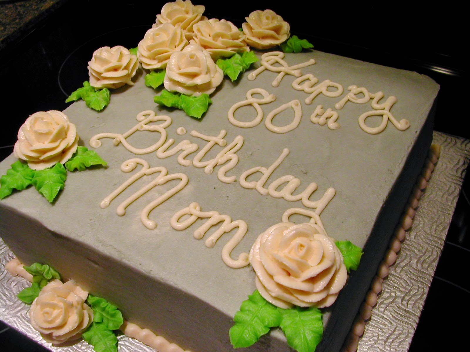 I See Both Her And Mum Whos 80th Birthday This Cake Is Helping To Celebrate As Elegant Women Hope Was Able Reflect That In