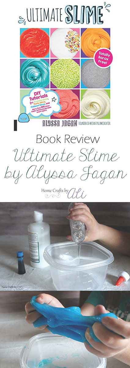 Ultimate Slime by Alyssa Jagan book review learn to make your own slime