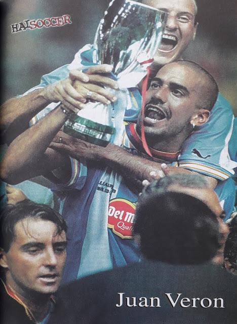 Pin up Juan Veron (Lazio)