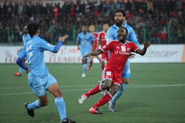 Hero I-League 2016-17: Lajong beat Churchill