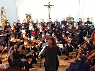 Juzbado, Concierto de navidad, Coro contrapunto, Escuela de Música Sirinx