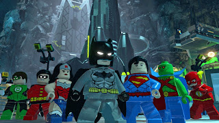 Superheroes in Lego Batman 3: Beyond Gotham Superman The Flash