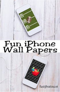 Decorate for September with these free iPhone wall papers for your phone.  Choose from these four designs or any of our other monthly favorites to keep your phone fresh and fun each day of the year.