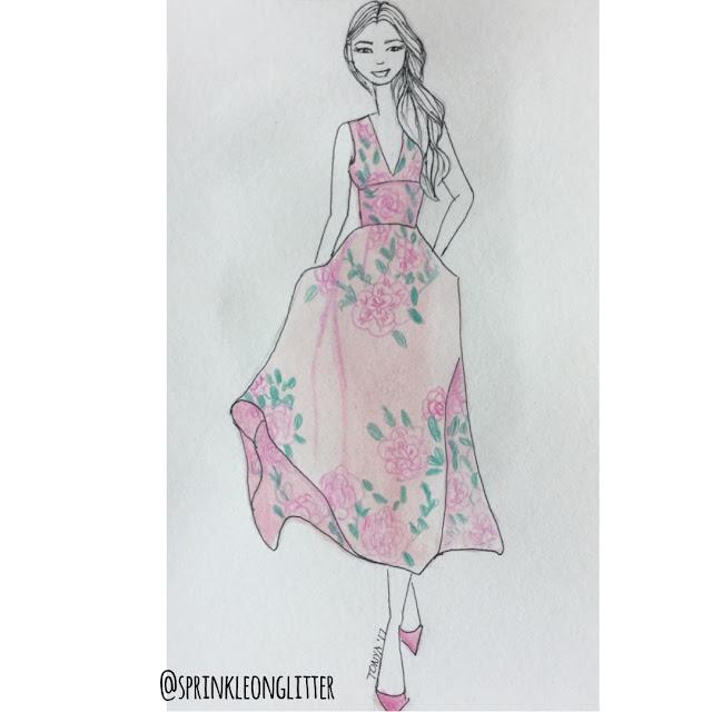 Sprinkle on Glitter Blog// instants roundup//flower dress
