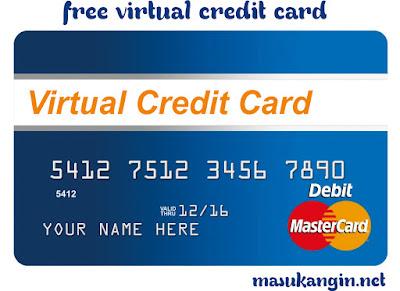 free virtual credit card 2018