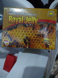 Natural Royal Jelly Nasa Serbuk